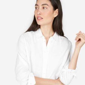 EVERLANE White Linen Shirt